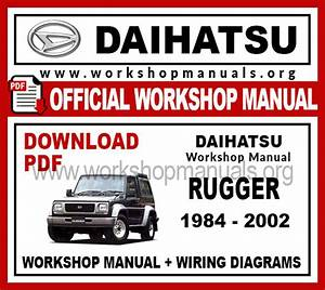 Daihatsu Rugger Workshop Repair Manual