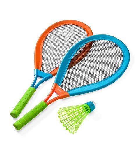 foto de LED Light Up Badminton Set with Rackets & Birdie for Kids
