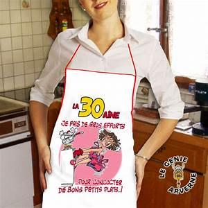 Tablier De Cuisine Femme : tablier de cuisine femme 30 aine ~ Teatrodelosmanantiales.com Idées de Décoration