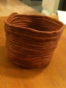 Pottery Coil Pinch Pots