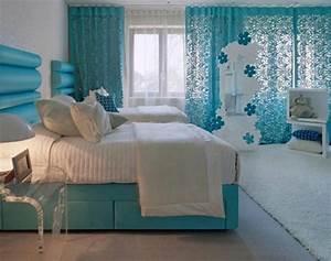 Voilage Bleu Turquoise : le voilage turquoise pour un int rieur doux et l gant ~ Teatrodelosmanantiales.com Idées de Décoration