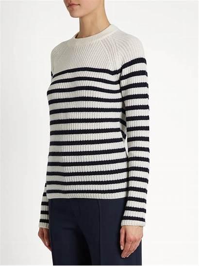 Sweater Striped Sailor Cashmere Joseph Stripe Lyst
