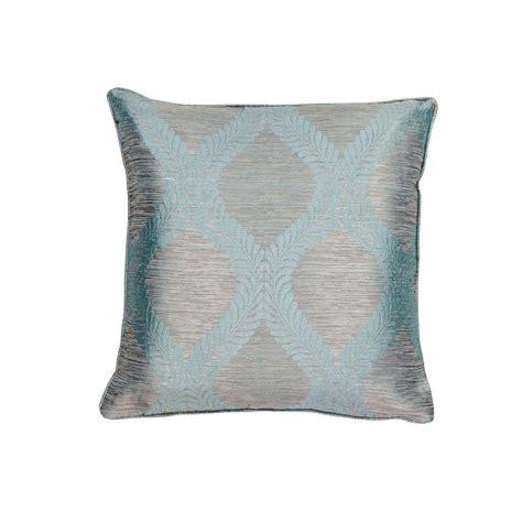 Blue Gray Throw Pillows by Kas Rugs Bordeaux Blue Grey Decorative Pillow Pill24020sq