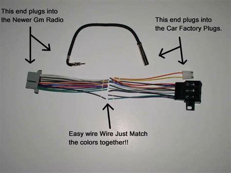 factory radio stereo installation delco  wire