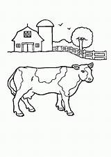 Coloring Pages Scenes Farming Farm Popular Printable sketch template