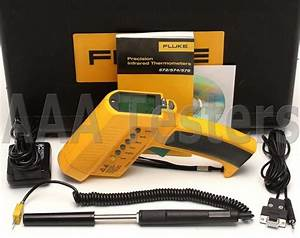Fluke 574 Non Contact Handheld Infrared Thermometer Ir