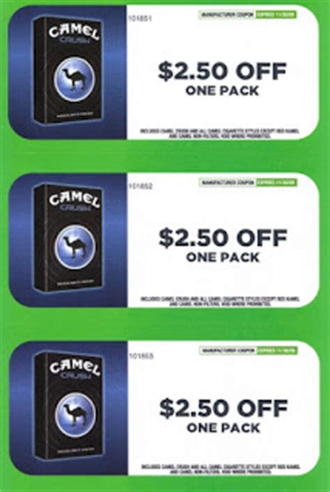 67739 Camel Coupon Code by Printable Cigarette Coupons 2019 Free Camel Cigarette