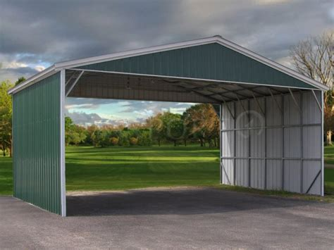 28x31 vertical roof triple wide carport carport1 free installation and delivery