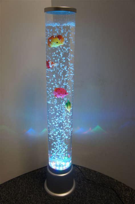 Colour Changing Led Sensory Light Mood Bubble Fish Water