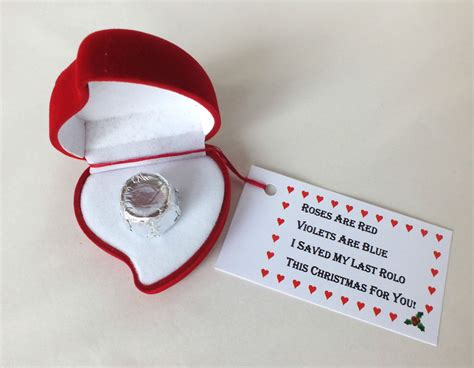 romantic gifts for her christmas my last rolo special novelty gift present for him ebay