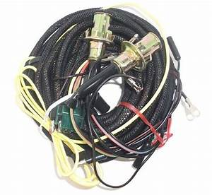 67 Mustang Tail Light Wiring Harness W  O Low Fuel Lamp