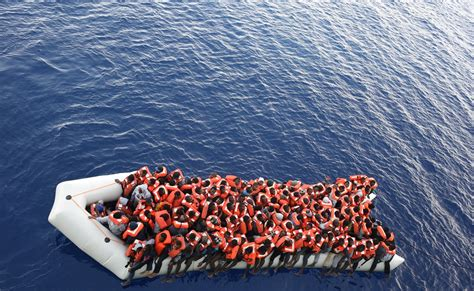 Msf Refugee Boat by Msf Field Worker Draws Parallels Between Xenophobic