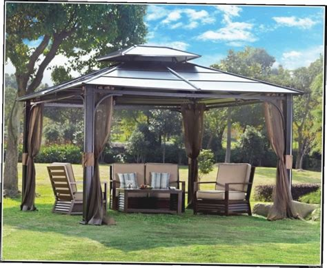 metal gazebos and canopies gazebo ideas