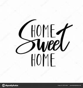 Home Sweet Home Schriftzug : home sweet home typografie poster handmade schriftzug drucken vintage vektor illustration ~ A.2002-acura-tl-radio.info Haus und Dekorationen
