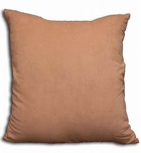 Koni angel suede euro sham cover with insert euro square for Best euro pillow inserts