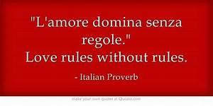 Love Quotes Italian. QuotesGram