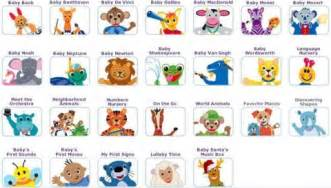 Baby Einstein Language Nursery Toys by Baby Einstein Dvd Collection Images