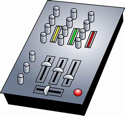 Dj Mixer Clip Audio Clipart Vector Svg