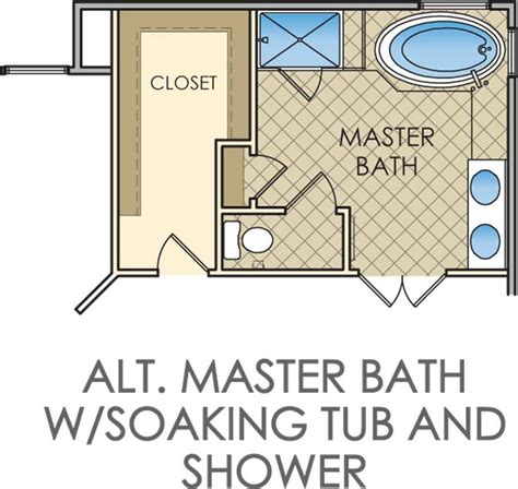 Small Master Bathroom Floor Plan by Master Bathroom And Closet Floor Plans Woodworking