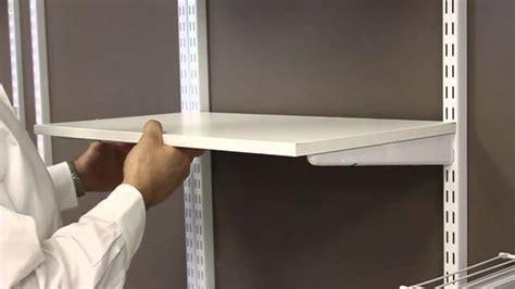 Installing Wood Shelves