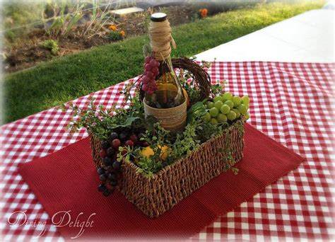 Italian Decorations For Home: Dining Delight: Italian Wine-Themed Tablescape
