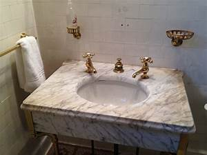 Replacing An Old Bathroom Sink And Vanity  A Guide