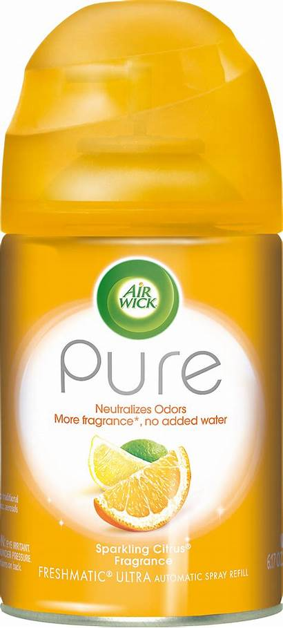 Air Freshener Spray Wick Automatic Refill Pure