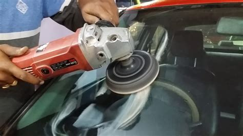 car glass polishing kit  youtube