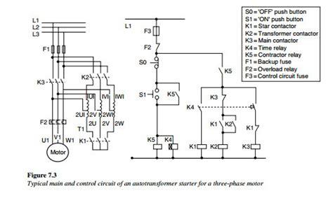 Main Control Circuit Auto Transformer Starter For