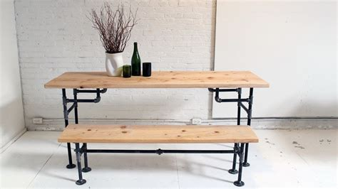 HomeMade Modern, Episode 3 -- DIY Wood + Iron Table - YouTube