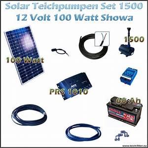 Solar Inselanlage Berechnen : 100w 12v solar teichpumpe mit akku als set f r gartenteich 1500 showa ~ Themetempest.com Abrechnung