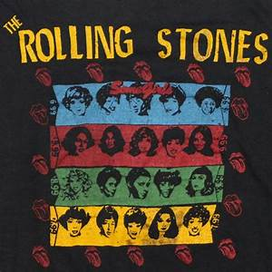 1978 Rolling Stones Some Girls World Tour Shirt | WyCo Vintage