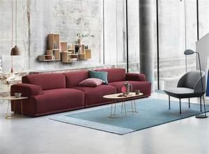 Teppich Im Wohnzimmer : rote couch im wohnzimmer welche wandfarbe und co passen dazu ~ Frokenaadalensverden.com Haus und Dekorationen