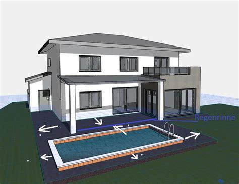Entwässerung Terrasse Rinne by Entw 228 Sserung Terrasse Bauforum Auf Energiesparhaus At