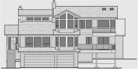house plans for sloping lots sloping lot house plans daylight basement house plans luxury