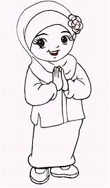 Coloring Islamic Pages Anime Different Cute Chibi Eyes Heads Bodies Happy Fun sketch template
