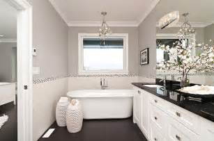 gray and white bathroom ideas black and white bathrooms design ideas decor and accessories