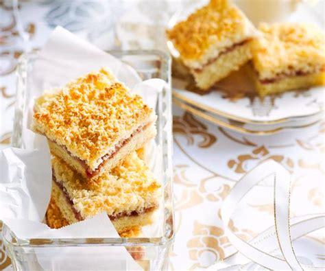 Kitchen Jam Slice by Raspberry Jam And Coconut Slice Recipe Recipe Food To