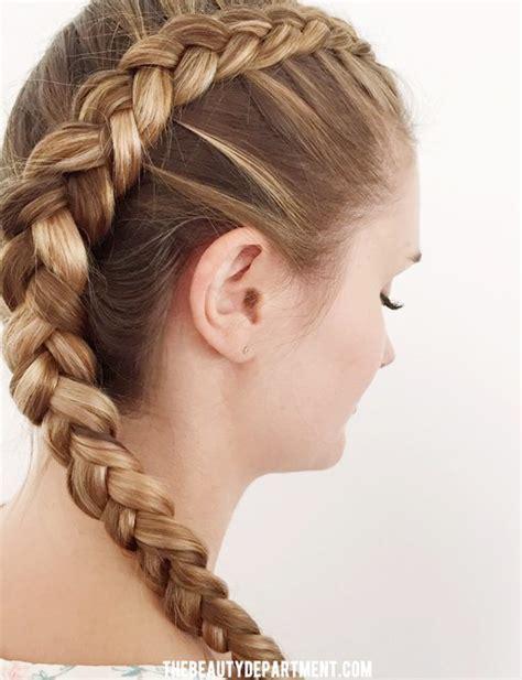 dutch braid  curly hair step  step tutorial