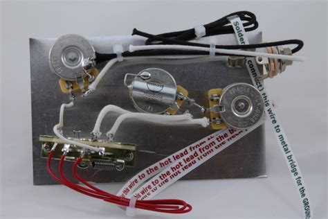 Highway One Style Stratocaster Wiring Harness For