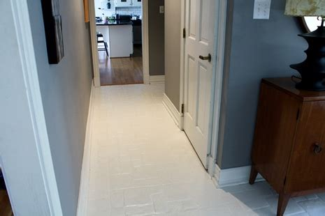 can you paint a tile floor how to paint a tile floor step by step curbly