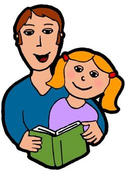 family reading together clipart parent child reading clipart clipart best