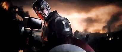 Endgame Avengers Captain America Scene Thanos Credits