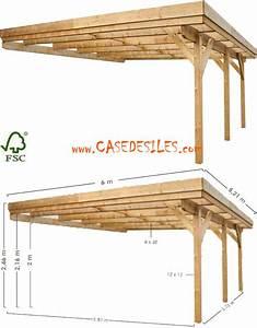 Carport 2 Voitures Bois : carport adossant bois 2 voitures 0700425 ~ Dailycaller-alerts.com Idées de Décoration