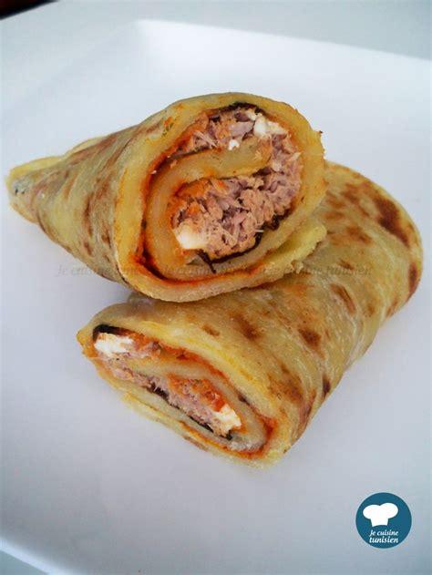 cuisine tunisienne recette mlewi au thon recette tunisienne food