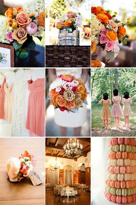 A Unique Wedding Color Palette To Fall For Whimsical