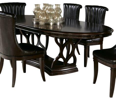bob mackie furniture dining room american drew bob mackie pedestal oval dining table