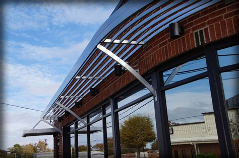dac architectural sunshades  louver canopies