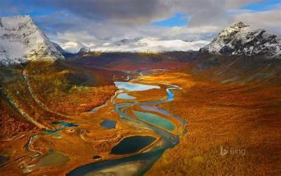 Bing Sweden Rapa Sarek Valley Park National