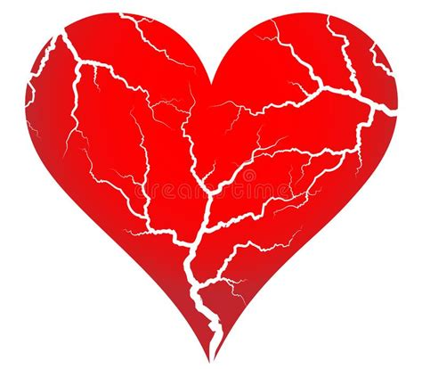 cracked heart picture image